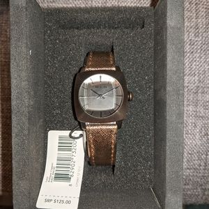 Nixon women's Luca watch in antique copper NIB
